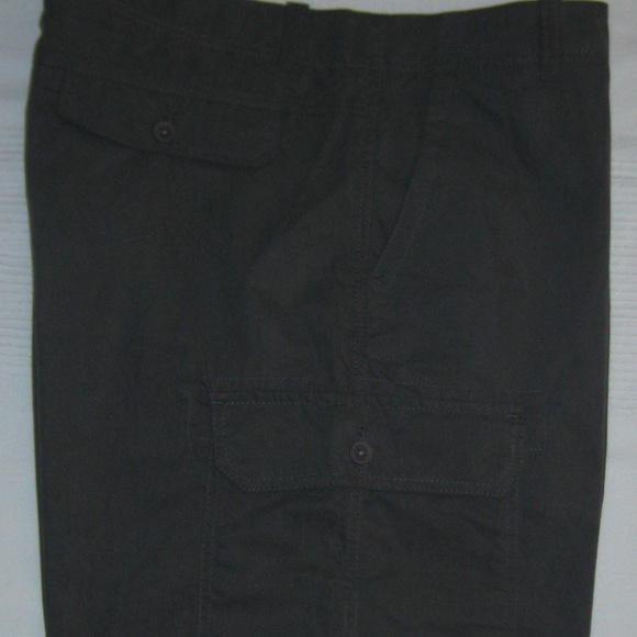 """Club Room Other - Flat Front Cargo Shorts Grey 9.5"""" Inseam New 38W"""